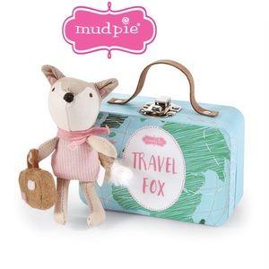 Mud Pie Girl Travel Fox